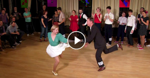 Fast Tempo Lindy Hop Advanced Final Jam at Sultans of Swing – Moscow