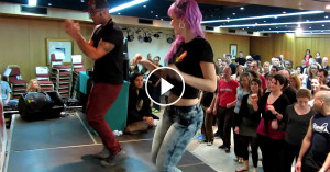 ALBIR ROJAS & SARA LOPEZ kizomba / hip-hop workshop