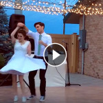 Improvised first wedding dance in Boise, Idaho 2015